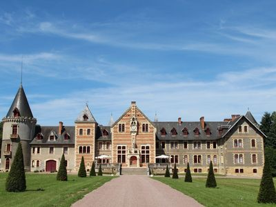 Photo for LUXURY RENOVATED CASTLE BEGUIN - 19 rooms for max 40/50 persons, pool, tennis ...