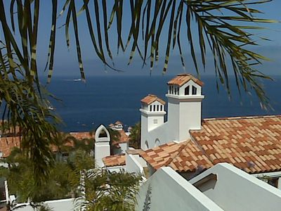 Photo for Beautiful Villa, 1462 SQ FT., Fireplace, Nice Ocean Views, 36 steps.