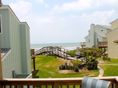 Photo for Fabulous Ocean Views!  3BR/3BA Steps to the Beach and Pool at Lost Colony