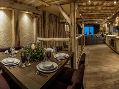 Photo for Ski in / ski out, 3 bedrooms, Courchevel 1850