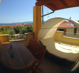 Photo for Apartment Casa Palma, Sea View, Air conditioning, Free Wifi, 600 m to the beach