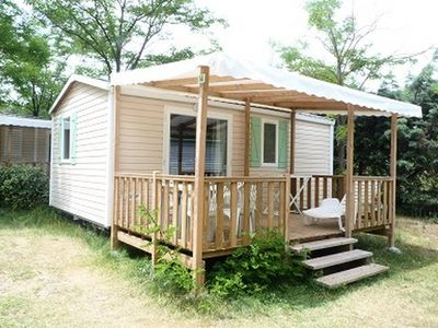 Photo for Camping L'Eau Vive *** - Mobile home IRM 3 Rooms 4 Persons