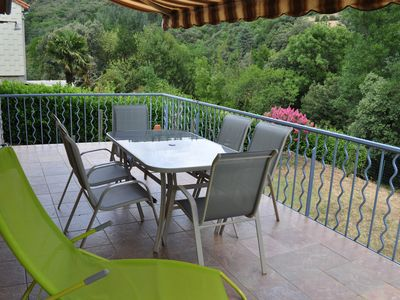 Photo for House with garden for 6/7 people village near Olargues