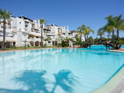 Photo for Apartment Las Adelfas in Marbella - 8 persons, 3 bedrooms