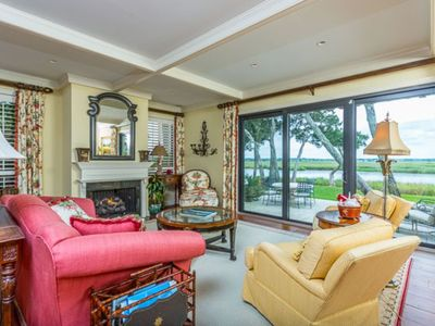 Waterfront  / 3 Blocks to Beach Club & Cloister / Golf Cart