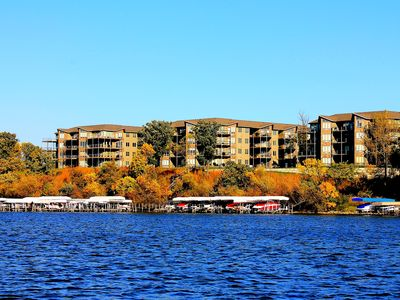 Photo for Best Rate! Best Lake Views! Bridges Bay Condo #205, Waterpark & Pools included!!
