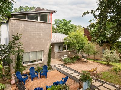 Photo for Unwind in this Vintage- Modern 3 Story Unique Home on Quiet Street Downtown! Great Location!
