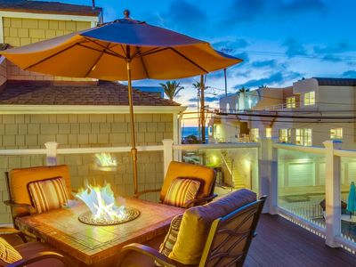 Photo for Private 500sf Ocean View Deck☆AC☆2 Houses to Beach