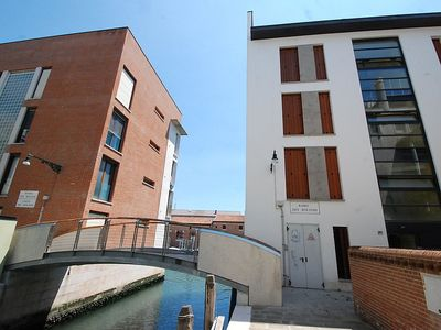 Photo for Apartment 490 m from the center of Venice with Lift, Internet, Washing machine, Air conditioning (116087)