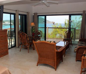 Waterfront, wrap around balcony. Lower $ available for longer stays. E5