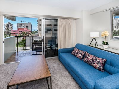 Photo for Waikiki Park Heights 1 BDR on the 5th Floor A