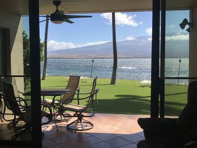 Photo for Maui Just Steps To The Waters Edge! Central A/C, Washer/Dryer/Remodeled!