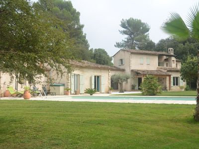 Photo for Beautiful Provençal Villa in absolute calm access village on foot
