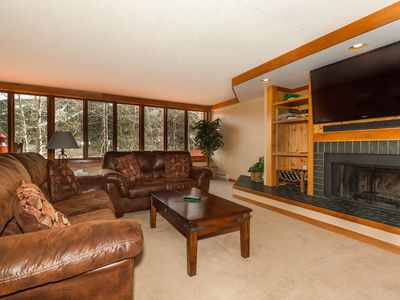 Photo for Spacious 2-Bedroom with Upgraded Kitchen, Mountain Views, Walk to Lifts