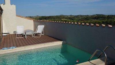 Photo for Unique fort with rooftop pool and breathtaking views