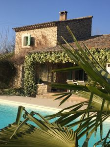 Photo for beautiful stone farmhouse recently renovated in the heart of the luberon with pool