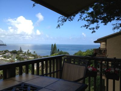 Photo for Peaceful Water And Mountain Views From The Lanai