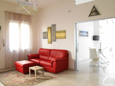Photo for Apartment in a residential district, just steps from the sea