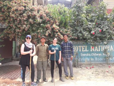Photo for Hotel National Park( cheapest room available in sauraha)