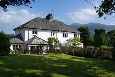 Rear of Riggside with Skiddaw behind