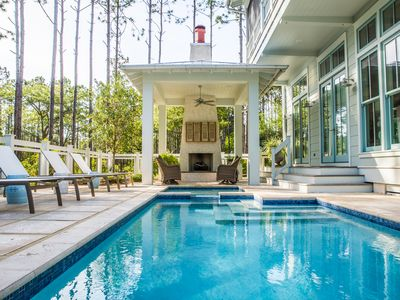 Photo for Private, Heated Pool! Brand New, Professionally Decorated Home in WaterColor!