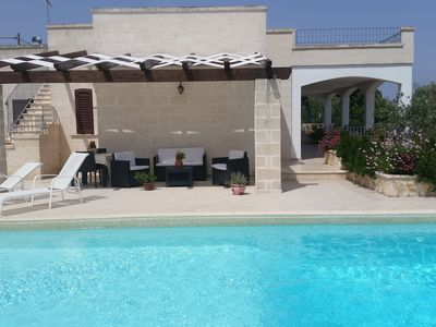 Photo for Villa with swimming pool surrounded by olive trees near Oasi WWF Reserve