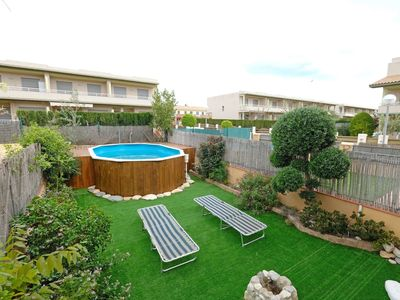 Photo for Lovely apartment for 8 guests with private pool, WIFI, TV and parking