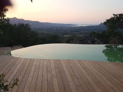 Photo for san Pantaleo typical Sardinian panoramic villa with swimming pool, surrounded by greenery