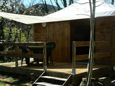 Photo for Camping Coeur d'Ardèche *** - 3 Rooms Cabin 4 People without toilets
