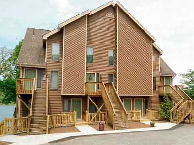 Photo for Lakefront Townhouse w/Dock Slip, Wood Fireplace, & Community Amenities!