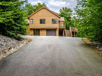 Photo for Spacious, Newly Built Home with hot tub/large deck close to Sunday River Ski Resort!