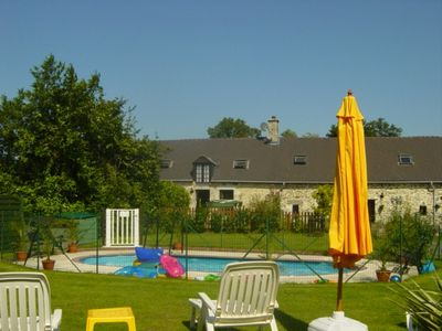 La Provotiere Holiday Cottages, with solar heated pool
