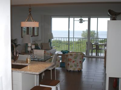 Photo for Gorgeous Gulf & Sunset Views from top floor apartment!