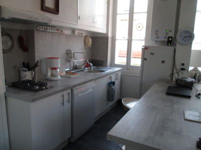 Photo for La Ciotat, large bright and quiet 2 rooms, 50 meters from the sea