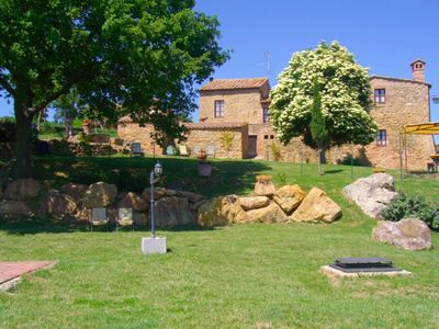 Photo for Stone villa with private pool, Wi-Fi Internet access. Pienza area.