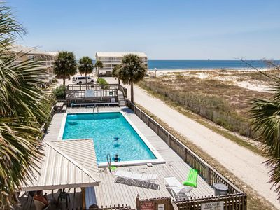 Photo for BEAUTIFUL VIEWS FROM THIS BEACH SIDE TOWNHOME WITH POOL!!!