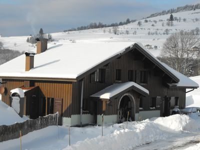 Photo for GITE 2 to 6 people in the mountains ds large chalet with heated indoor pool