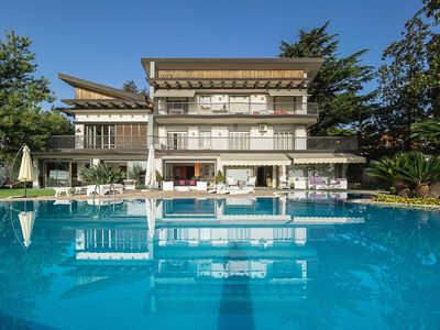 Photo for Villa with Private Pool & Stunning Views on the Coast & Etna. 22 Sleeps!
