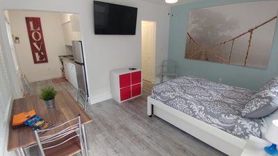 Photo for Studio Miami Windwood / Down- Mid Town/ AA arenas / Full Kitchen/ Sleep 3