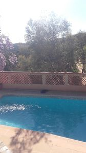 Photo for Mas with pool view impregnable area of valcros on the hills