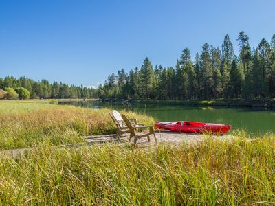 Photo for Spectacular River Views! Luxury on the Big Deschutes!