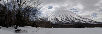 Beautiful Mt. Yotei is nearby.