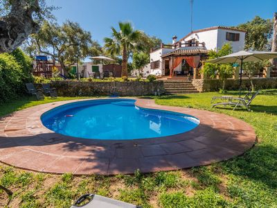 Photo for Beautiful Villa with Large Garden, Pool, Terraces, Air Conditioning & Wi-Fi; Parking Available, Pets Allowed