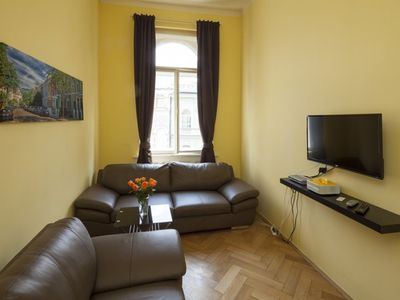 Photo for Vodickova Suite 8 apartment in Nove Mesto with WiFi & lift.