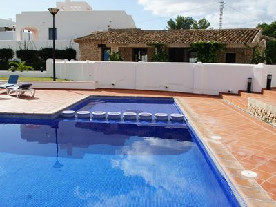 Photo for BUNGALOW IN SMALL RESIDENTIAL COMPLEX WITH 2 small and large pool