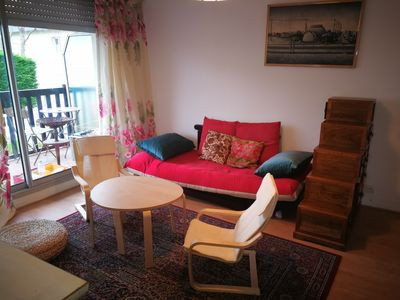 Photo for 3 rooms 100 m from the beach in a small half-timbered building