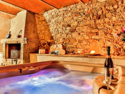 Photo for LA MICCIA, Honeymoon Luxury Suite w/ HOT TUB