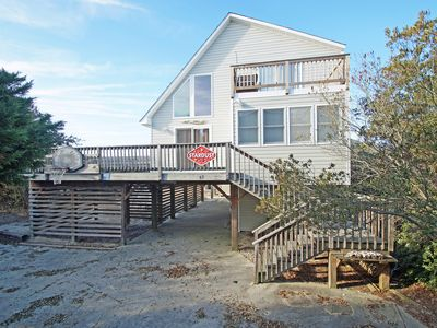 Photo for STEPS TO THE BEACH- 3 BRs, New Pool, Hot Tub, Jacuzzi Tub, Dog Friendly!