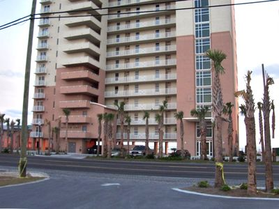 Granview East at Long Beach-view from street-Panama City Beach