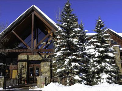 Photo for One-Bedroom Slopeside Condo With Hot Tub, Pool and Concierge